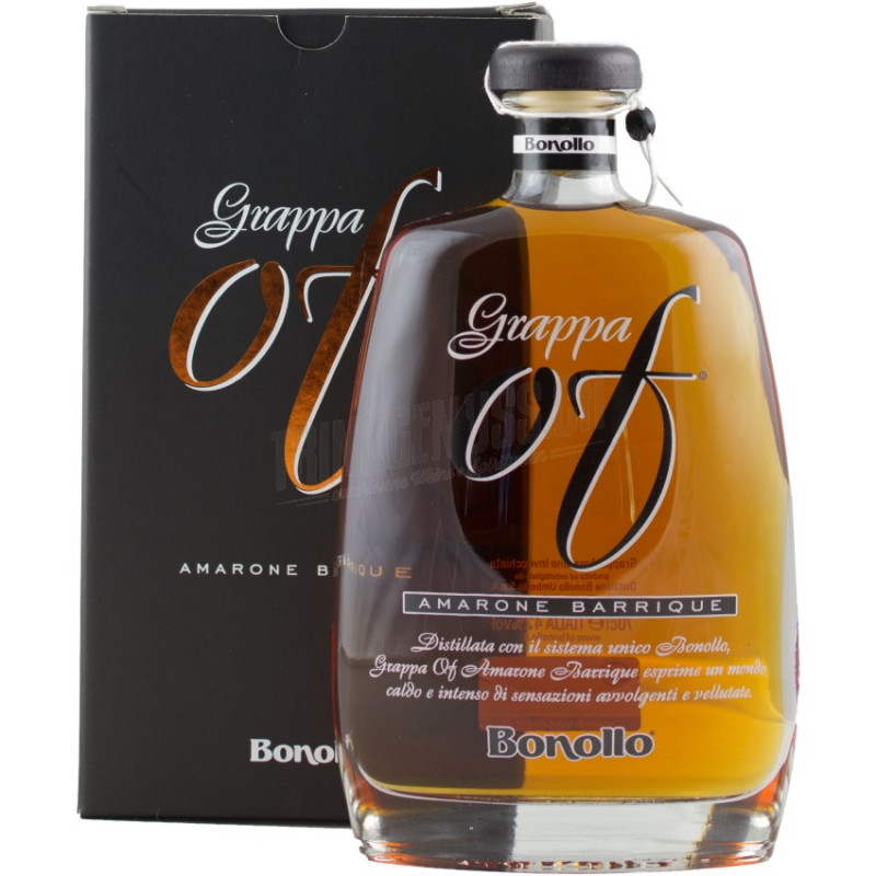 Grappa OF Amarone Barrique Bonollo