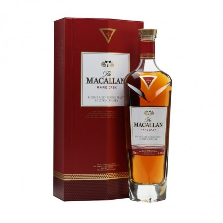 Macallan Highland Single Malt Scotch Whisky Rare Cask