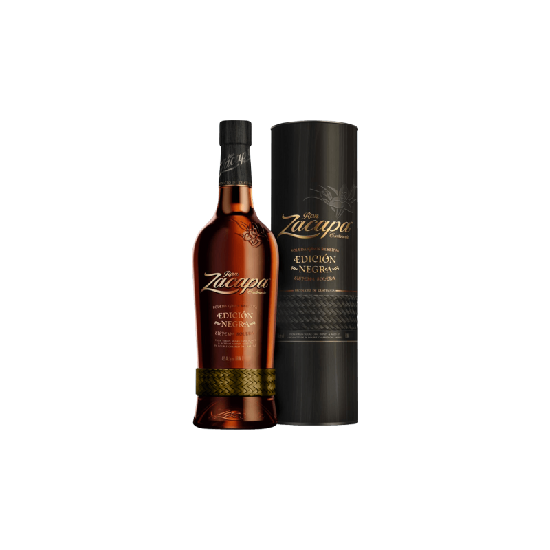 Zacapa Ediction Negra Rum 70 CL