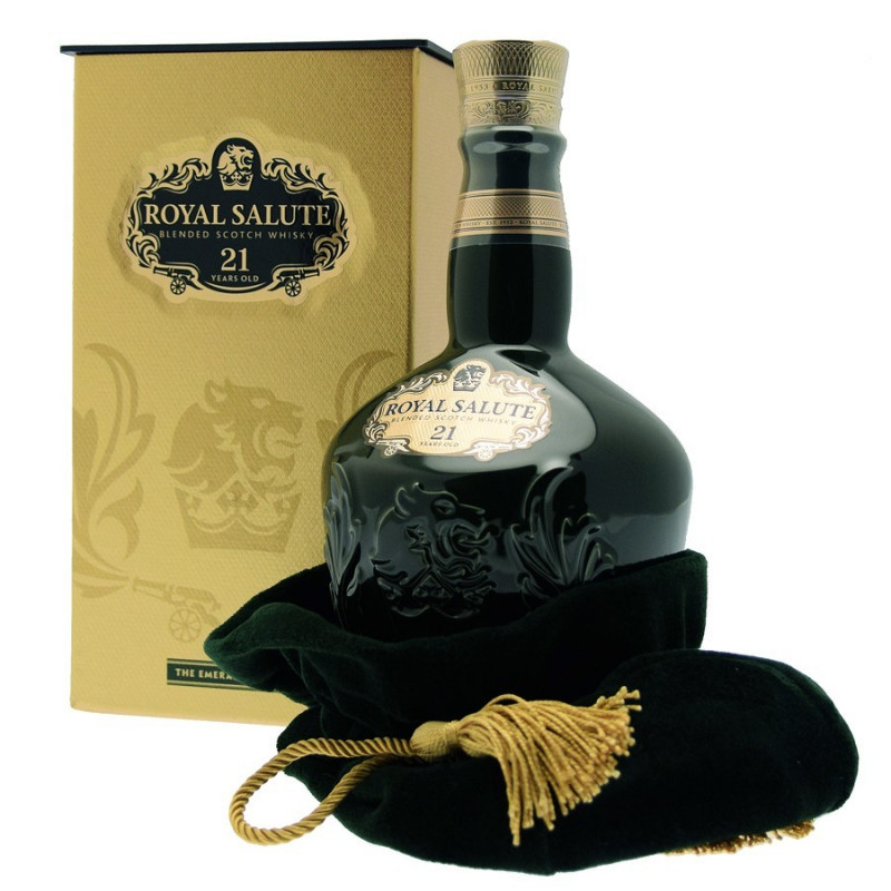 Chivas Regal Royal Salute 21 Anni Blended Scotch Whisky 75cl Emerald