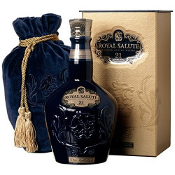 Chivas Regal Royal Salute 21 Anni Blended Scotch Whisky 75cl Sapphire