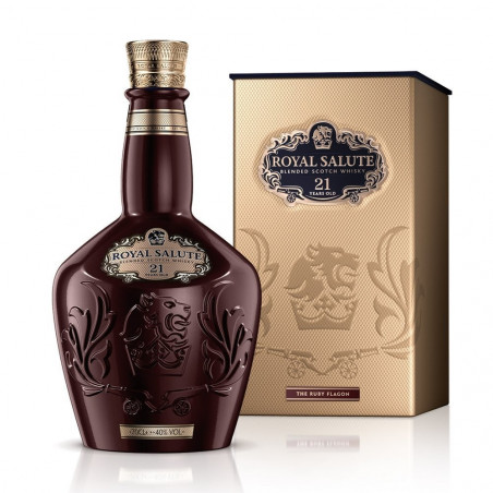 Chivas Regal Royal Salute 21 Anni Blended Scotch Whisky 75cl Ruby