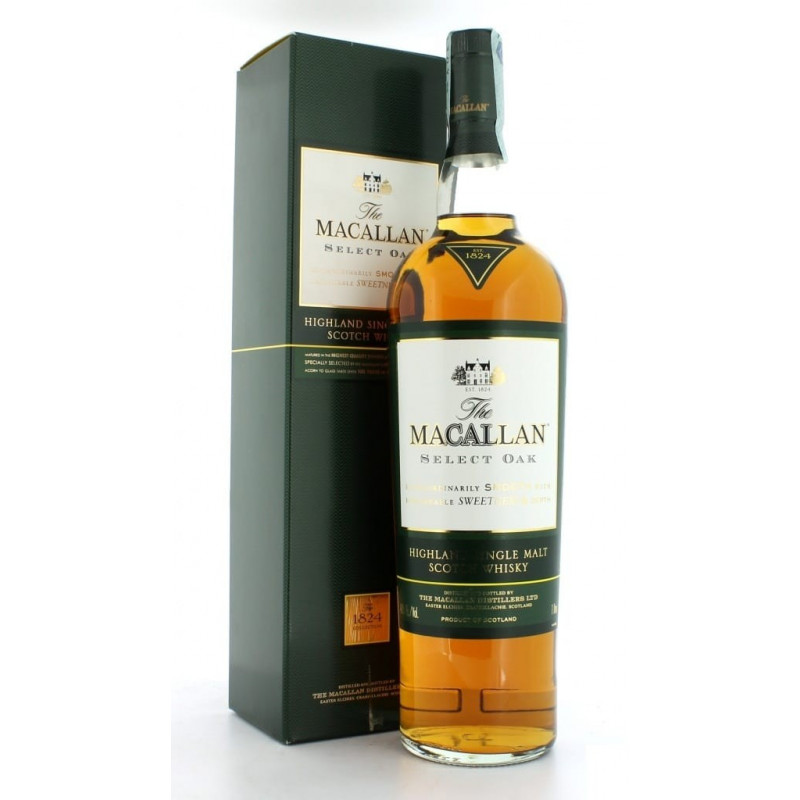 Macallan  Whisky select oak  100 cl