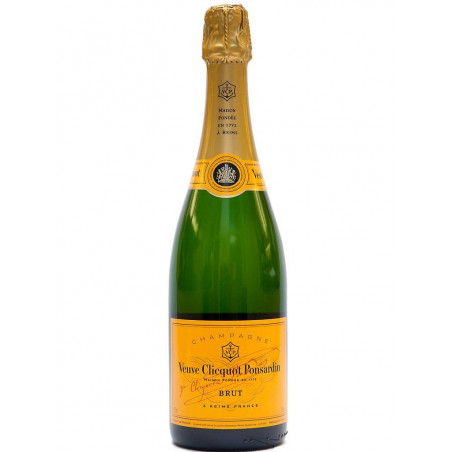 Champagne Veuve Clicquot Brut Yellow Label