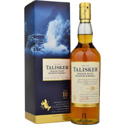 Talisker 18 Years Single Malt Scotch Whisky - 70cl - Whisky - Talisker