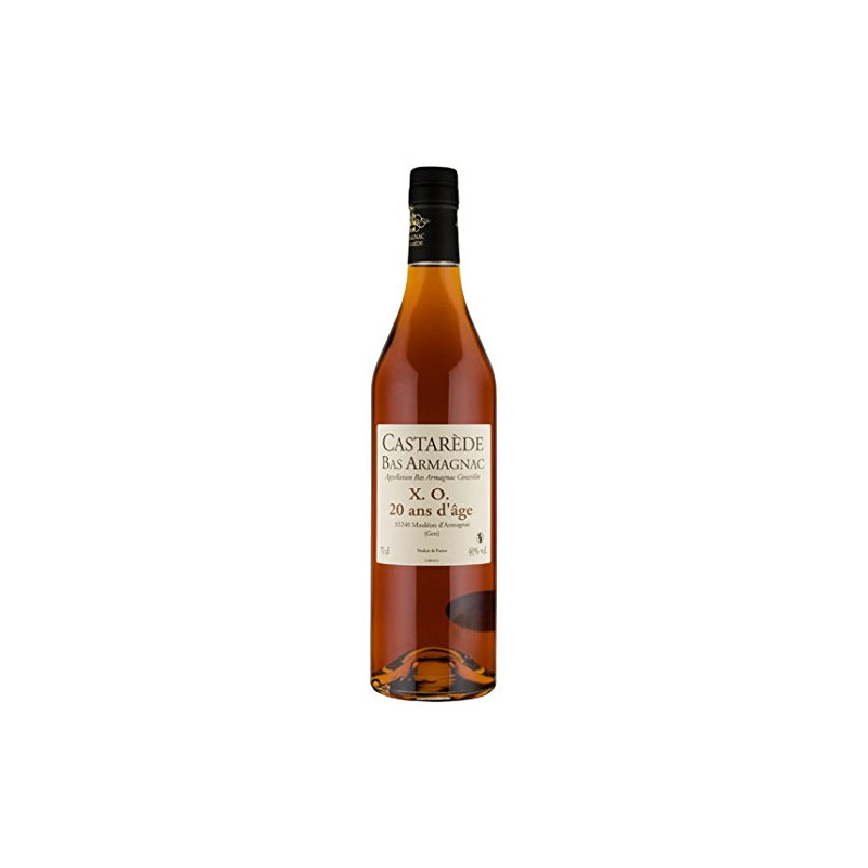 NV Bas Armagnac X.O. (min 20 years old), Castarede, 70cl.