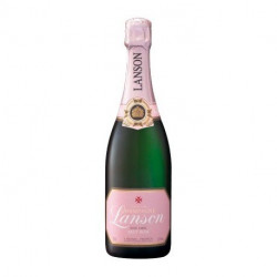 Champagne Lanson Rose Label