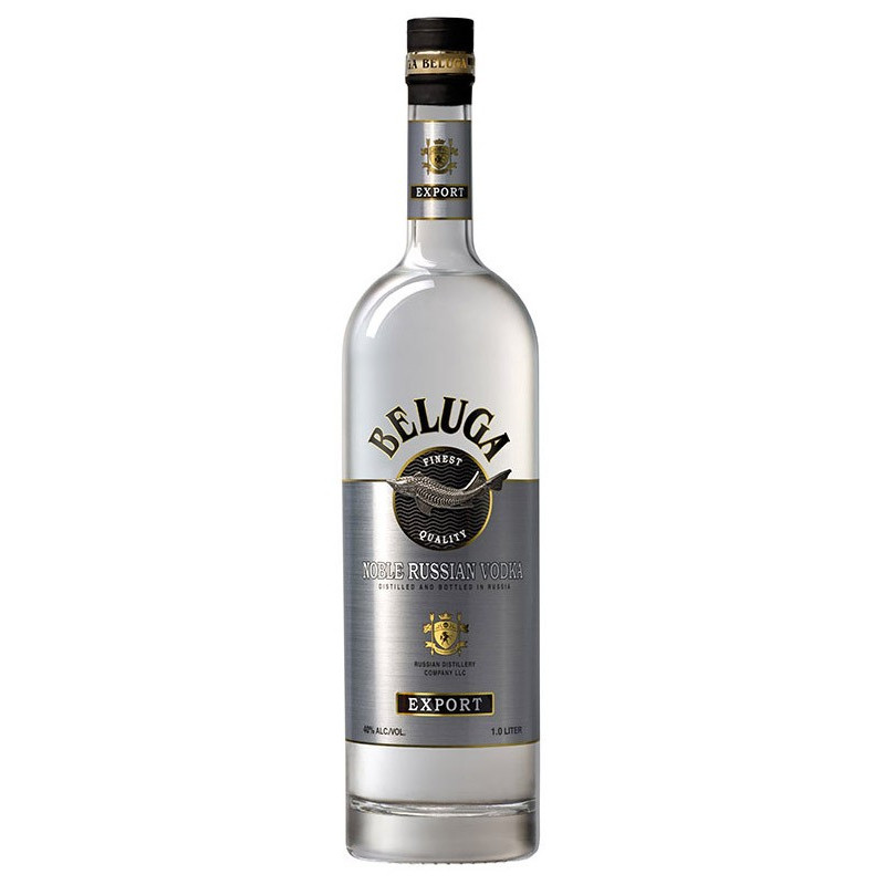 Beluga Export Noble Russian Vodka 40 % 1 lt.