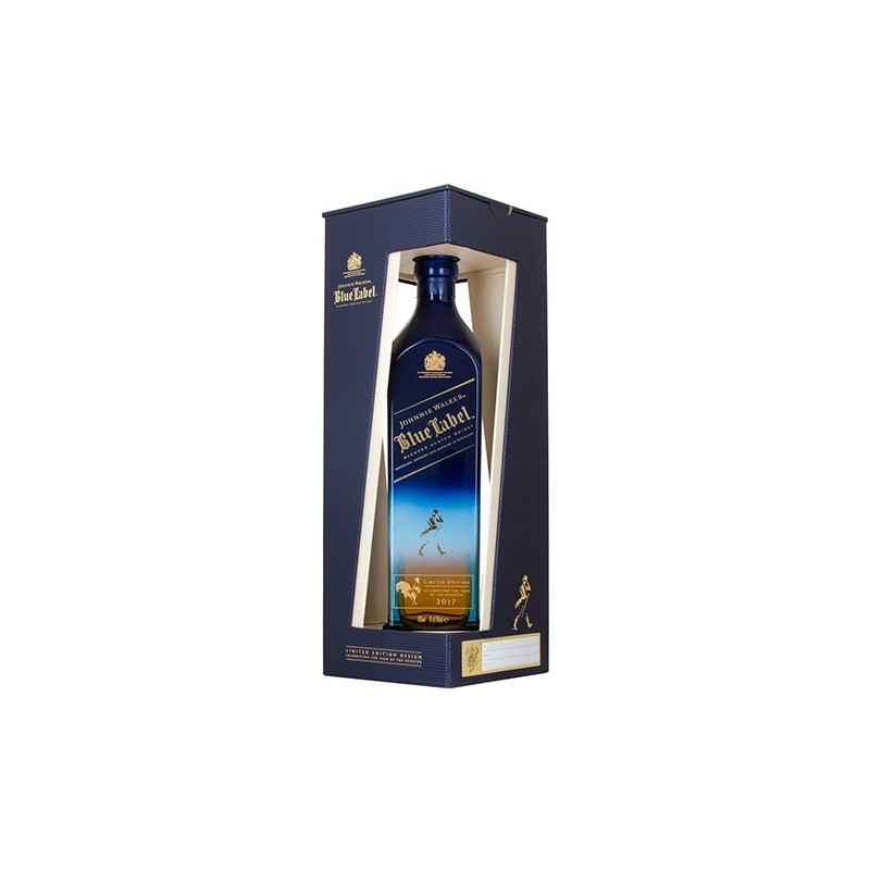 Scotch Whisky Blue Label Year of the Rooster edition