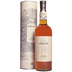 Oban Single Malt Scotch Whisky 14 Years Old  Astucciato