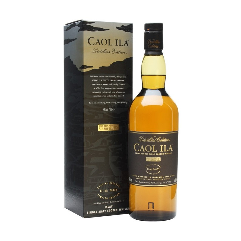 Caol Ila Islay Single Malt Scotch Whisky 70 cl Distiller's Edition