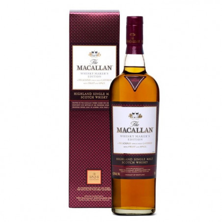 Macallan 1824 Collection Whisky Maker's Edition Single Malt Scotch Whisky 70 cl