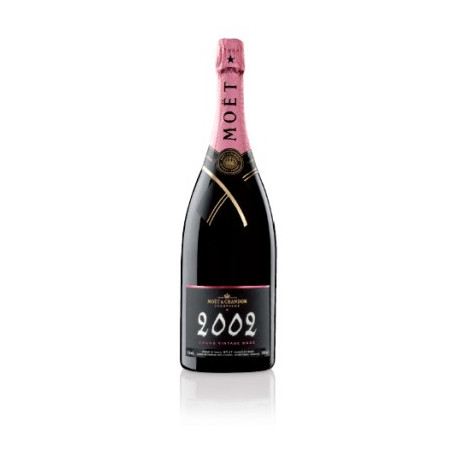 Champagne Moet & Chandon Grand Vintage Rose 2002 Magnum