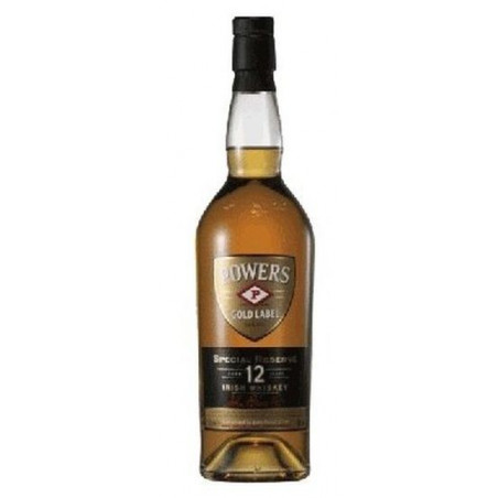 Irish Whiskey Powers Gold Label 12 Years Old