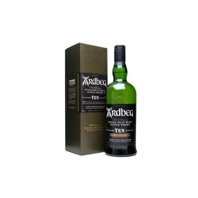 Scotch Whisky Ardbeg 10 Year Old Astucciato 70 cl